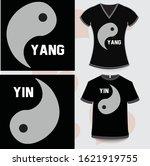 Yin Yang Black And White Shirts ...