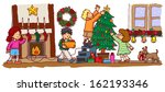kids children with friends are...   Shutterstock .eps vector #162193346
