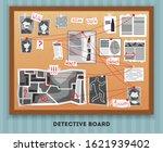detective board composition... | Shutterstock .eps vector #1621939402