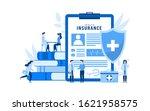 health insurance vector... | Shutterstock .eps vector #1621958575