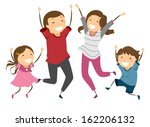 air,art,bonding,boy,cartoon,child,clip,clipart,cutout,drawing,eps,excited,excitement,family,figure