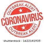 coronavirus. outbreak alert.... | Shutterstock .eps vector #1622141935