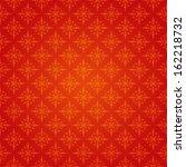 vector. snowflake background.   Shutterstock .eps vector #162218732