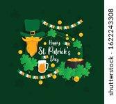 st patrick's day banner concept ... | Shutterstock .eps vector #1622243308