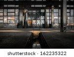 industrial interior of an old... | Shutterstock . vector #162235322