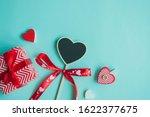 valentine's day concept. top... | Shutterstock . vector #1622377675
