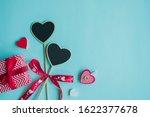 valentine's day concept. top... | Shutterstock . vector #1622377678