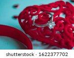 valentine's day concept. top... | Shutterstock . vector #1622377702