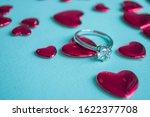valentine's day concept. top... | Shutterstock . vector #1622377708