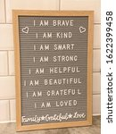 Daily Affirmation Board For Kids