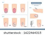 how to remove gel polish....   Shutterstock .eps vector #1622464315