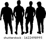 group of people. crowd of... | Shutterstock . vector #1622498995