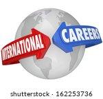international careers global... | Shutterstock . vector #162253736