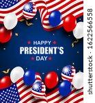 presidents day usa. background. ...   Shutterstock .eps vector #1622566558