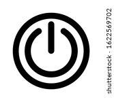 power icon vector illustration. ... | Shutterstock .eps vector #1622569702