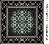geometric ornament with frame ... | Shutterstock . vector #1622572402