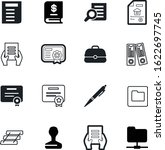 document vector icon set such... | Shutterstock .eps vector #1622697745