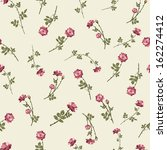 seamless floral pattern with... | Shutterstock .eps vector #162274412