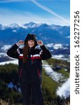 beautiful young woman having... | Shutterstock . vector #162277256