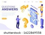 online isometric customer...   Shutterstock .eps vector #1622869558