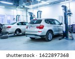Small photo of BMW authorized service in Iasi, Romania, January 2020