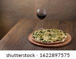 Delicious Broccoli Pizza Serve...