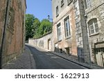 steep lane in french town | Shutterstock . vector #1622913