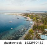 gili air aerial view to... | Shutterstock . vector #1622990482