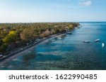 gili air aerial view to... | Shutterstock . vector #1622990485