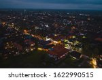night ubud city aerial view to... | Shutterstock . vector #1622990515