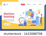 machine learning landing page...