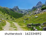 Rural Road In Mountains Of...