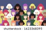 8 march women's day background...   Shutterstock .eps vector #1623368395