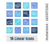 webdesign icon set and raster...