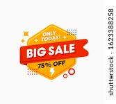 big sale special offer  sale... | Shutterstock .eps vector #1623388258