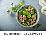 Spinach Salad With Tuna And...