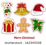 christmas decoration | Shutterstock .eps vector #162345338
