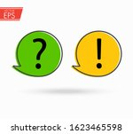 question and exclamation... | Shutterstock .eps vector #1623465598
