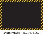 yellow warning dangerous...   Shutterstock .eps vector #1623471652