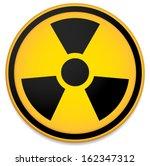 radioactive sign  symbol.... | Shutterstock .eps vector #162347312