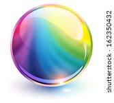 3d Sphere Rainbow Colors ...