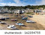 Boats In Mousehole Harbour...