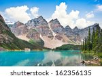 beautiful landscape with rocky... | Shutterstock . vector #162356135