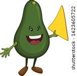 vector illustration of a happy... | Shutterstock .eps vector #1623605722