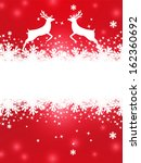 greeting christmas card with... | Shutterstock . vector #162360692