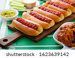 Hot Dogs For Game Day  Super...