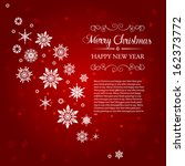 season's greetings banner | Shutterstock .eps vector #162373772