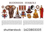 buddhism religion and culture... | Shutterstock .eps vector #1623803335