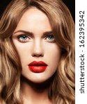 Beautiful Young Model Woman...