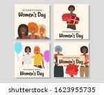 international women's day.... | Shutterstock .eps vector #1623955735